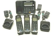 Panasonic KX-TG6843B Dect 6.0 Expandable Cordless Answering System w/ 3 Handsets