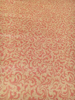 Vintage Wallpaper Coral Swirl Acanthus Small Print by Motif