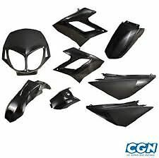 kit carrenages DERBI DRD RACING  kit carenages derbi 2004 a 2009 NOIR