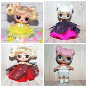LOL Doll Surprise Big Sister Clothes - 4 pcs lot doll clothes, dress, No Doll