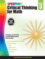 Spectrum Critical Thinking for Math, Grade 3, Paperback by Spectrum (COR), Br...