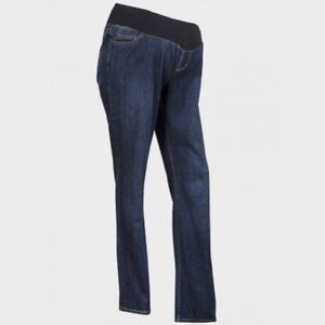 Liz Lange Maternity Under The Bump Bootcut Jeans Size 8 to 16 UK
