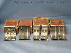 1940-1947 Chevrolet GMC 216 224 235 Main Bearing Set STANDARD USA MADE