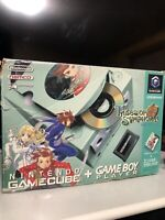Nintendo GameCube Console Enjoy Plus Pack Box Symphonic Green GC Japan Tested