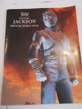 MICHAEL JACKSON CONCERT PROGRAMME HISTORY (AS NEW)