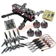 QAV250 Carbon Quadcopter MT2204Ⅱ 2300KV Motor Simonk 12A ESC CC3D FC 6045 Props