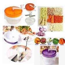 Picador de cebolla torcer vegetales-chuletas frutos secos, ajo, nabo, zanahorias, frutas