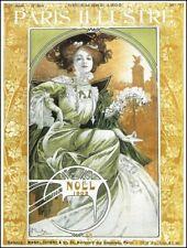 Noel cover Paris Illustre 1903 Alphonse Mucha art nouveau poster at home decor