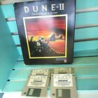 """1992 Dune Ii For Pc Dos With Original Big Box Vintage Video Game Computer 3.5"""""""