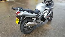Kawasaki ZZR1200 Stainless Oval Single outlet Road Legal Motorbike Exhaust Can
