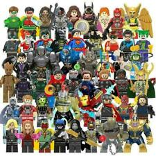 The Super Heroes Marvel Hulk Avengers Super-man Iron Man DC  Mini figures Toys