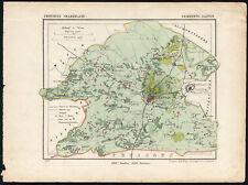 Antique Map-NETHERLANDS--AALTEN-GELDERLAND-Kuyper-Kuijper-1865