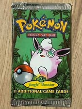 Unlimited 1999 Factory Sealed Pokemon Booster Box Pack Artwork Design 1