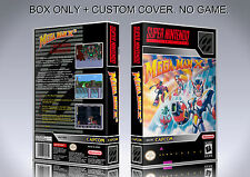 MEGAMAN X 3. NTSC VERSION. Box/Case. Super Nintendo. BOX + COVER. (NO GAME)