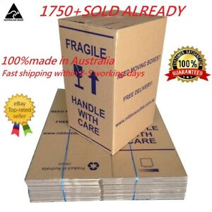 20X LARGE100L MOVING BOXES PACKING CARDBOARD REMOVALIST PACKAGE