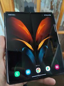 Samsung Galaxy Z Fold2 5G SM-F916B 256GB Mystic Bronze (Unlocked) with flaws