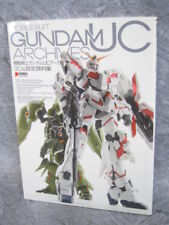 GUNDAM UC ARCHIVES Unicorn w/Poster Art Plastic Model Book MW78*