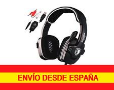 Auriculares Sades SA-922 profesional para juegos multiplataforma Consolas PC