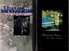 THROWING MUSICS lot of 2 CASSETTE TAPES Real Ramona + University 90s ALT ROCK