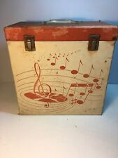 "1960 Platter Pak Phonograph Record Case for 12"" 33rpm LP's  1250ND Amberg File"