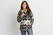 Woolrich Blanket Popover American Eagle Outfitters Size Small  MSRP: $175