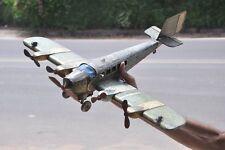 Rare Vintage Big 21'' Long Litho Passenger Airplane Tin Toy,Germany