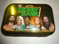RARE 2019 Topps WWE Money in the Bank Empty Collector Tin Briefcase used