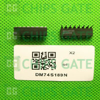 4PCS DM74S189N Encapsulation:DIP16,x4 SRAM