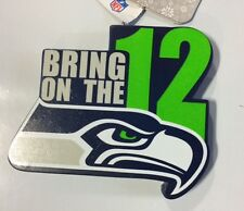 Seattle Seahawks Bring on the 12 Christmas Ornament FREE SHIP - 12th Man