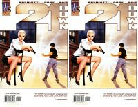 21 Down #7 (2002-2003) Wildstorm Comics - 2 Comics