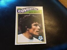 TOPPS 1978/79  FOOTBALL CARD . 174  KEITH OSGOOD . COVENTRY . ORANGE BACK . NEW