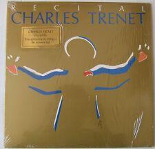 CHARLES TRENET (2LP 33T) RECITAL CHARLES TRENET THEATRE CHAMPS ELYSEES 1987