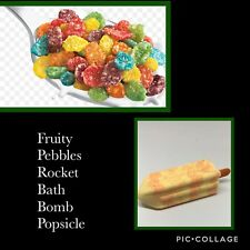 Fruity Pebbles Rocket Bath Bomb Popsicle