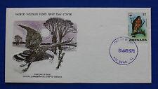 Grenada (854) 1978 Broad-winged Hawk WWF FDC