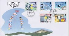 Unaddressed Jersey First Day Cover FDC 2008 Signals Set 10% off 5