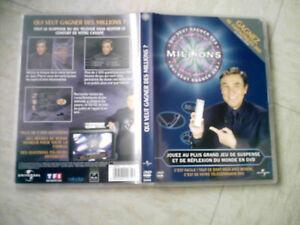 DVD interactif  jeu QUI VEUT GAGNER DES MILLIONS  avec jean pierre foucault