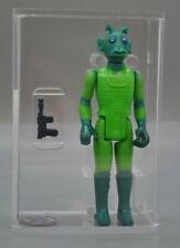 Vintage 1980 Kenner STAR WARS GREEDO Loose Figure AFA 75 EX+ NM NEW CASE