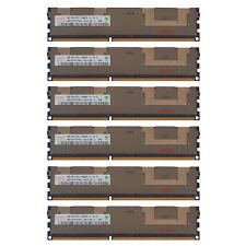 24GB Kit 6x 4GB HP Proliant BL28C BL2X220C DL160 DL170E SL160Z G6 Memory Ram