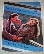 1978 ad page - YSL Yves Saint Laurent RIVE GAUCHE sexy Girl Guy PRINT ADVERT