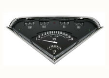 55 56 57 58 59 Chevy Truck Classic Instruments Gauge Panel Cluster Dash Black (Fits: Truck)