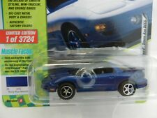 2018 Johnny Lightning *90s MUSCLE CARS USA* BLUE 1999 Pontiac Firebird TRANS AM