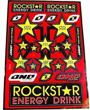 BRAND NEW ROCKSTAR Decal Sticker ATV Dirt Bike HONDA SUZUKI I DE22