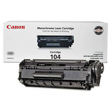 60 Empty Virgin Genuine Canon 104 Laser Cartridges