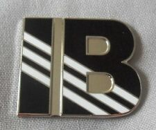**NEW** Ian Brown 'IB' enamel badge.Stone Roses,Primal Scream,Mod,Tickets,Oasis.