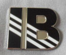 NEW Ian Brown 'IB' enamel badge. Ripples, Stone Roses,Adidas,Tickets,Oasis