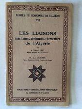 LES LIAISONS MARITIMES AERIENNES TERRESTRES ALGERIE DHE DENIZET CHAHIERS 3