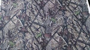 """90"""" In HTC True Timber Camouflage Auto Headliner Camo Fabric 3/16"""" Foam Backing"""