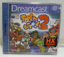 POWER STONE 2 - SEGA DC DREAMCAST PAL BRAND NEW SEALED RARE - NUOVO SIGILLATO