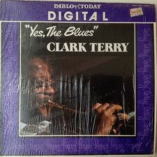 CLARK TERRY: YES THE BLUES Red Vinyl Record LP /rare