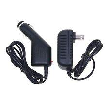 Car Charger + AC Adapter for Pandigital SuperNova R80A400 R80B400 eReader Tablet